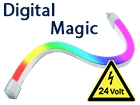 Neon Flex LED 24v IP66 Digital Magic