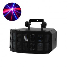Φωτιστικό LED Εφέ 50W 230V BUTTERFLY LIGHT RGBW DMX512 GloboStar 51157