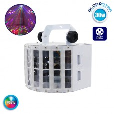 Φωτιστικό LED Εφέ 30W 230V ARROW LIGHT RGBW DMX512 GloboStar 51158