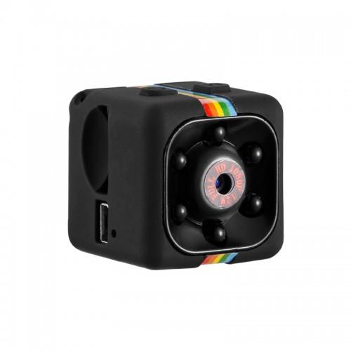 Webcam Mini Full HD B4-SQ11 1080P Black