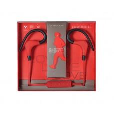 Ακουστικά VENNUS - Bluetooth BT-1 Κόκκινο
